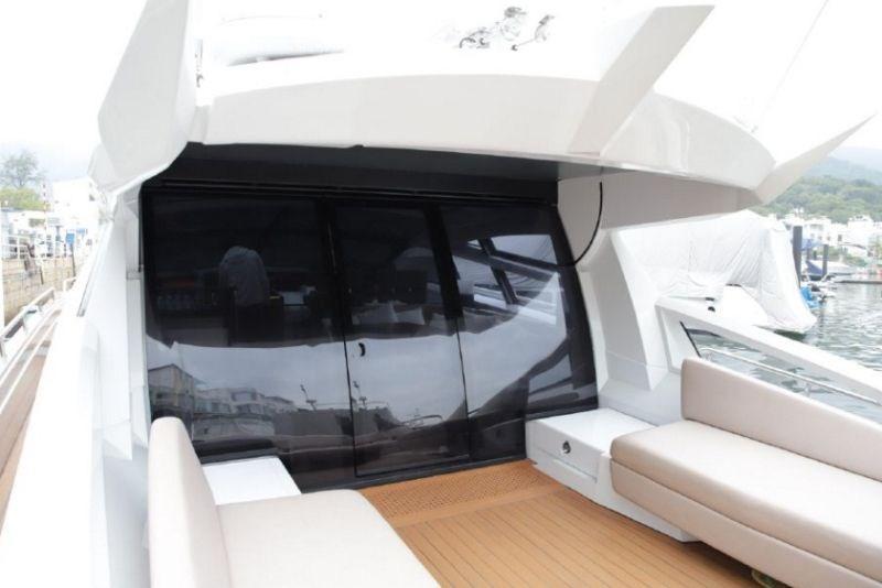 Baia 70 Cockpit