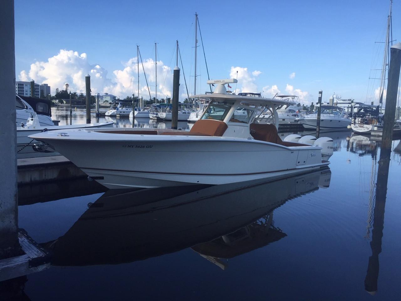 35 Scout 2016 Fort Myers Beach Denison Yacht Sales