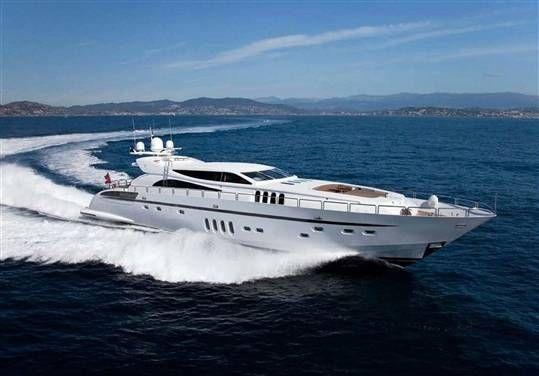 Brokerage leopard boat...