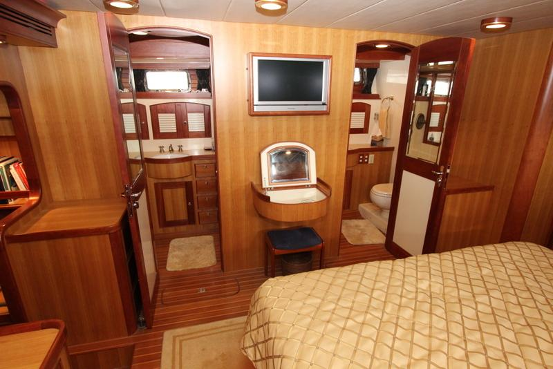 Master Stateroom His & Her Heads