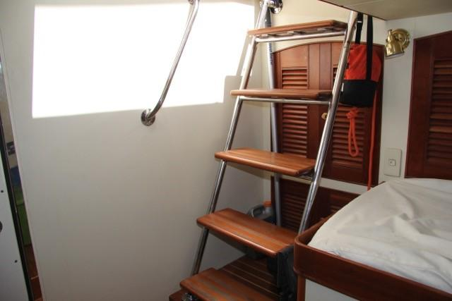 Crew & Engine Room Access Steps
