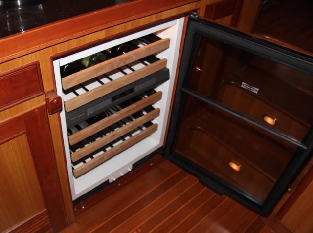 Entertainment Center Wine Cooler
