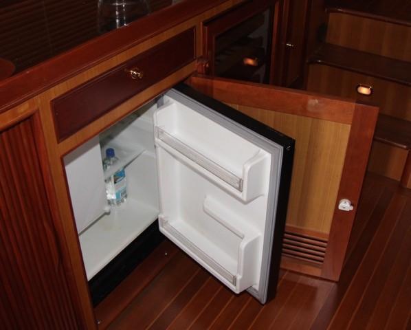 Entertainment Center Refrigerator &  Icemaker
