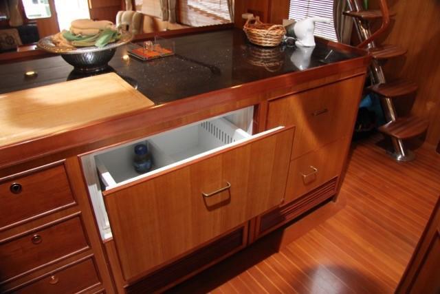 Galley Refrigerator Drawers
