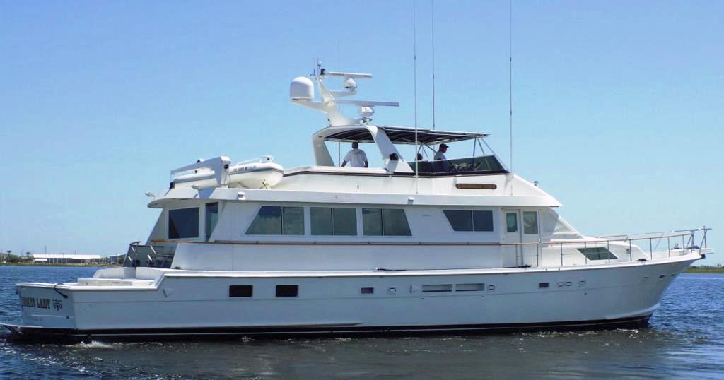 Hatteras 74' Yacht-Fish - 1990