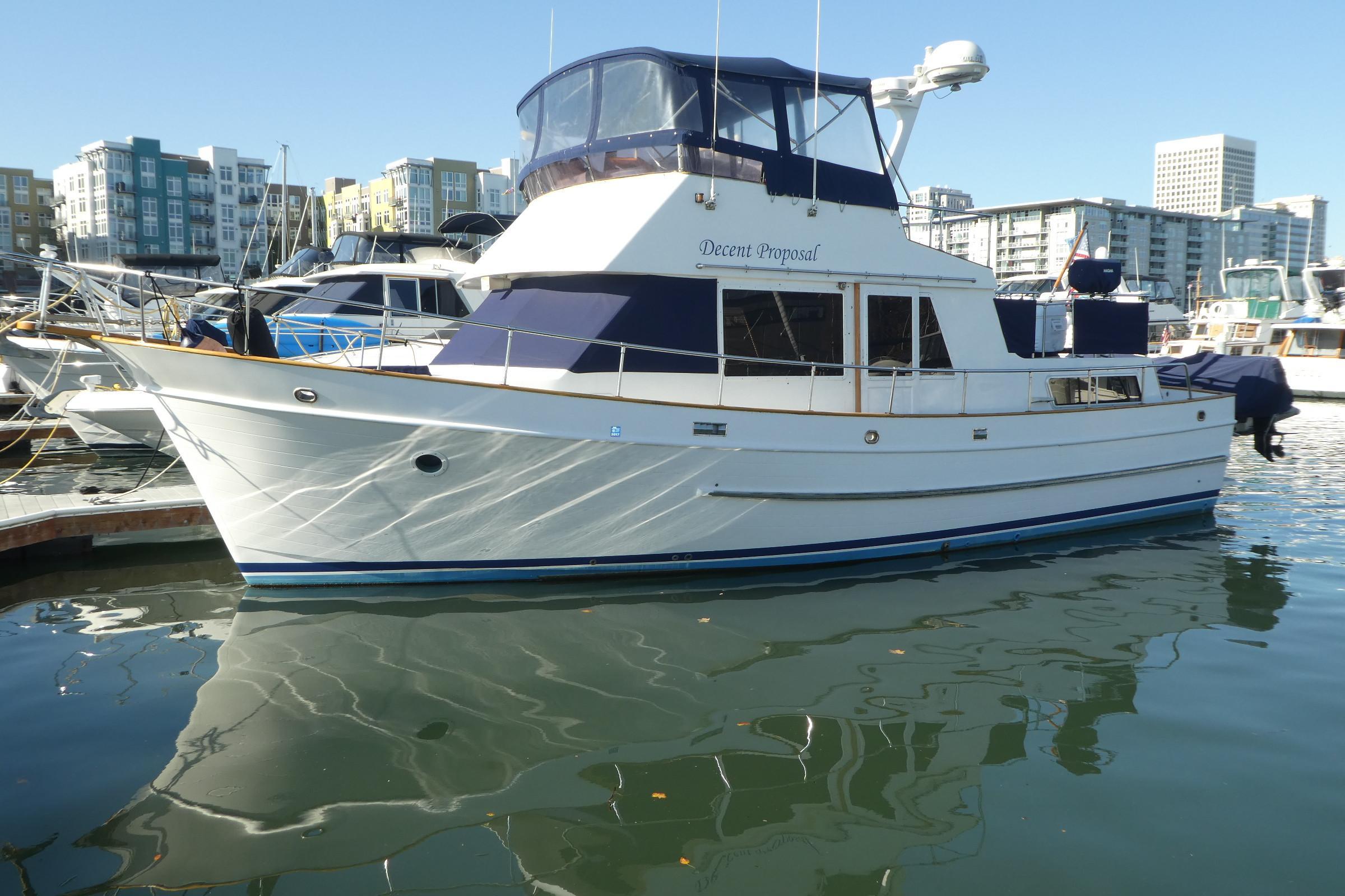 Davis 40' Trawler