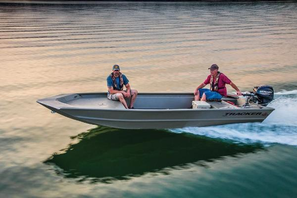 2018 Tracker Boats boat for sale, model of the boat is Grizzly 1754 Jon & Image # 6 of 27