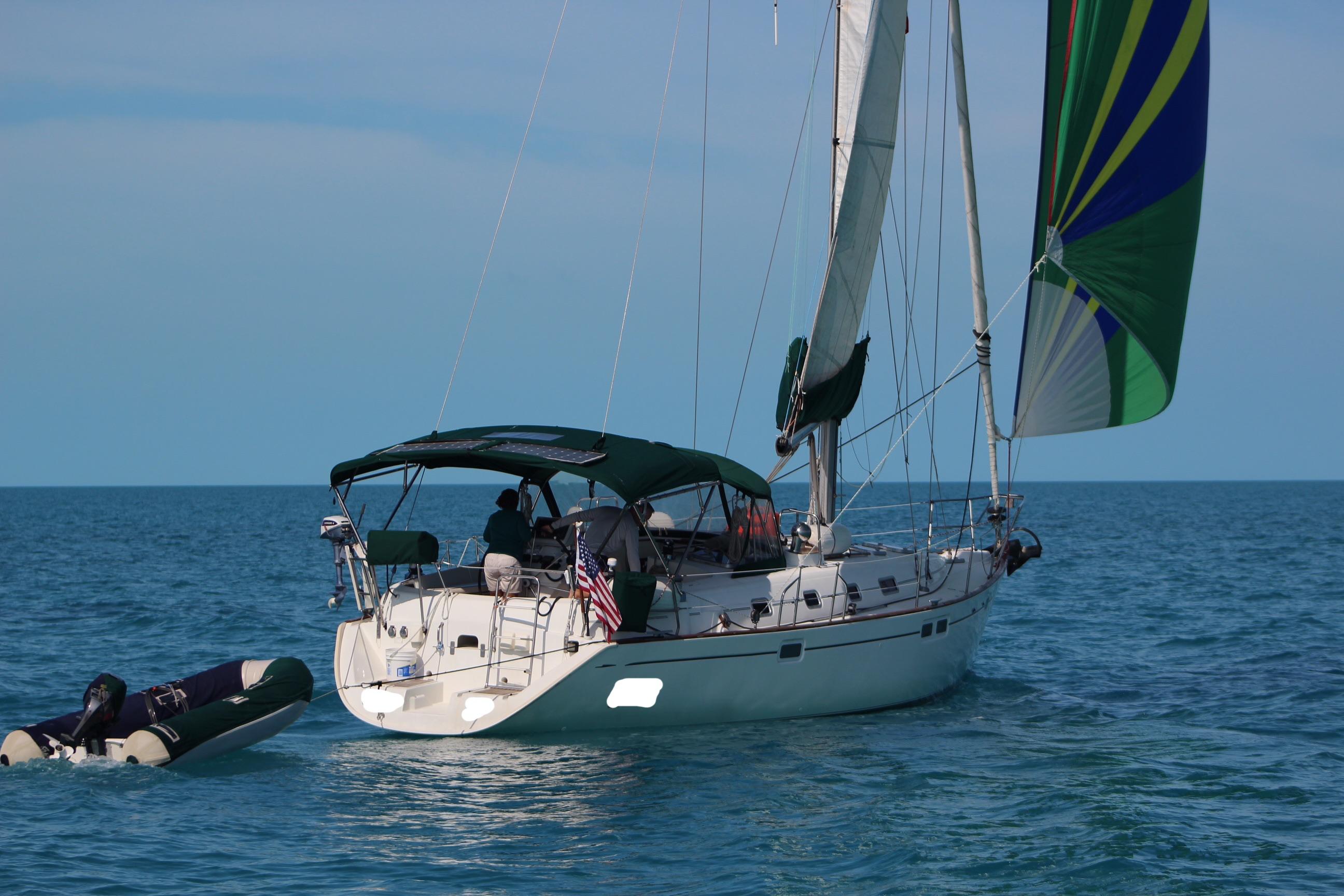Beneteau Oceanis 461 - 1998 Beneteau Oceanis 461under sail