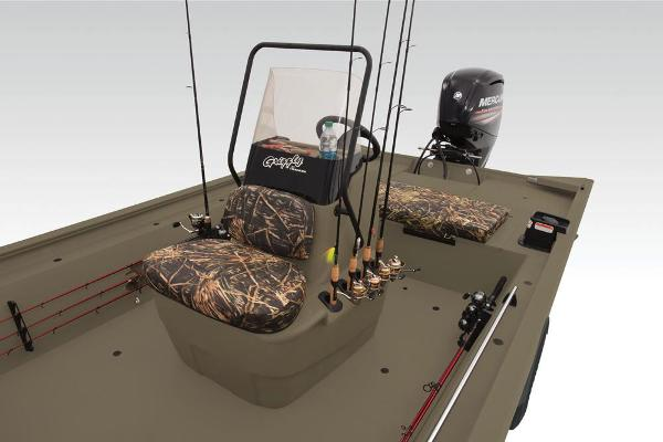 2019 Tracker Boats boat for sale, model of the boat is Grizzly 1860 CC & Image # 22 of 23