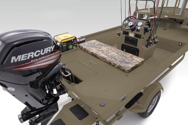 2019 Tracker Boats boat for sale, model of the boat is Grizzly 1860 CC Sportsman & Image # 21 of 94