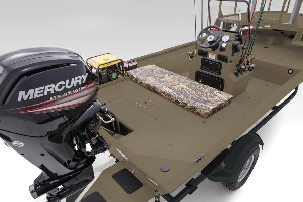2019 Tracker Boats boat for sale, model of the boat is Grizzly 1860 CC Sportsman & Image # 75 of 94