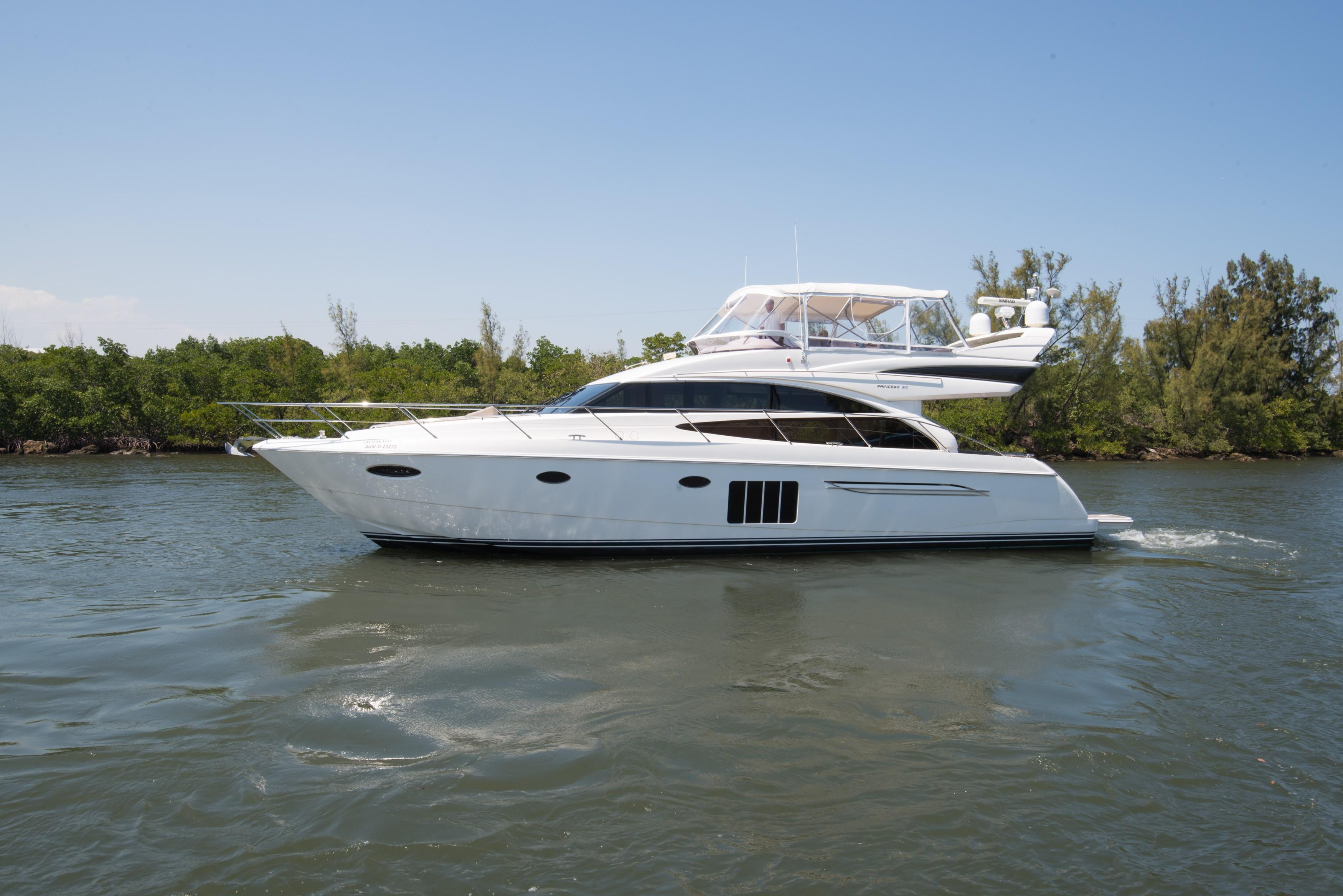 Princess Yachts For Sale Ranging From 56 To 60 Galati Yachts
