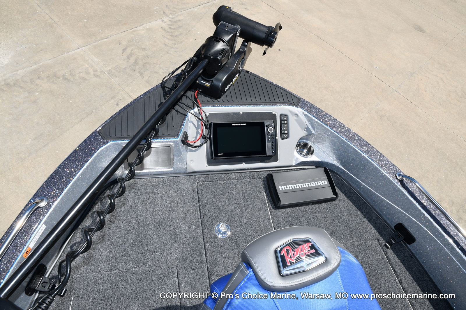 2021 Ranger Boats boat for sale, model of the boat is 620FS Pro w/300HP Verado & Image # 12 of 50
