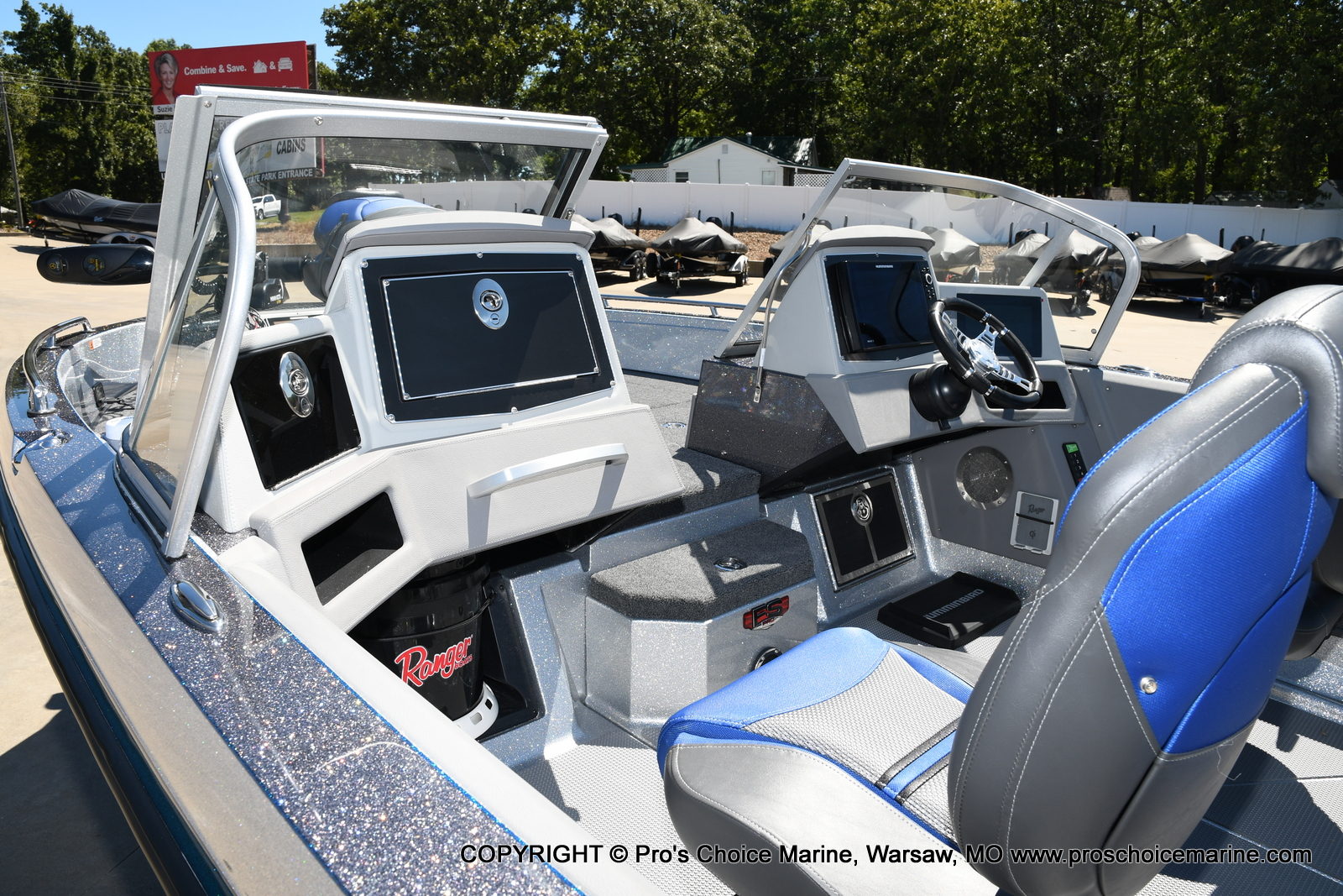 2021 Ranger Boats boat for sale, model of the boat is 620FS Pro w/300HP Verado & Image # 5 of 50