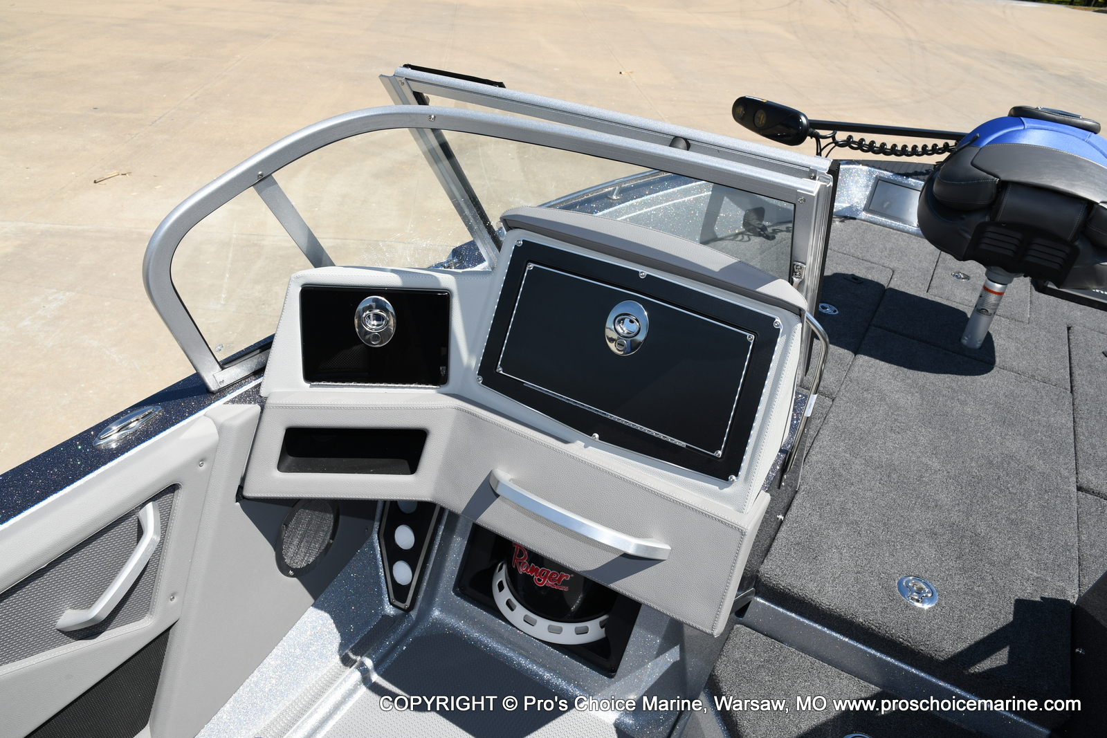 2021 Ranger Boats boat for sale, model of the boat is 620FS Pro w/300HP Verado & Image # 33 of 50