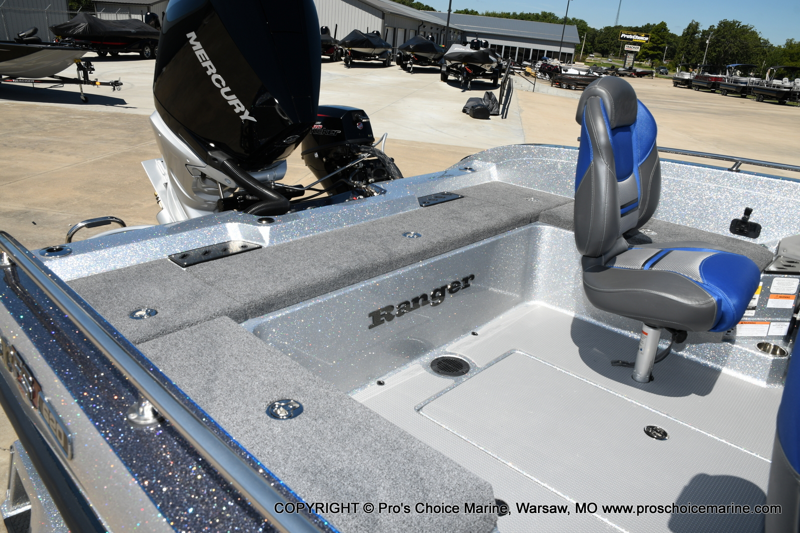 2021 Ranger Boats boat for sale, model of the boat is 620FS Pro w/300HP Verado & Image # 42 of 50