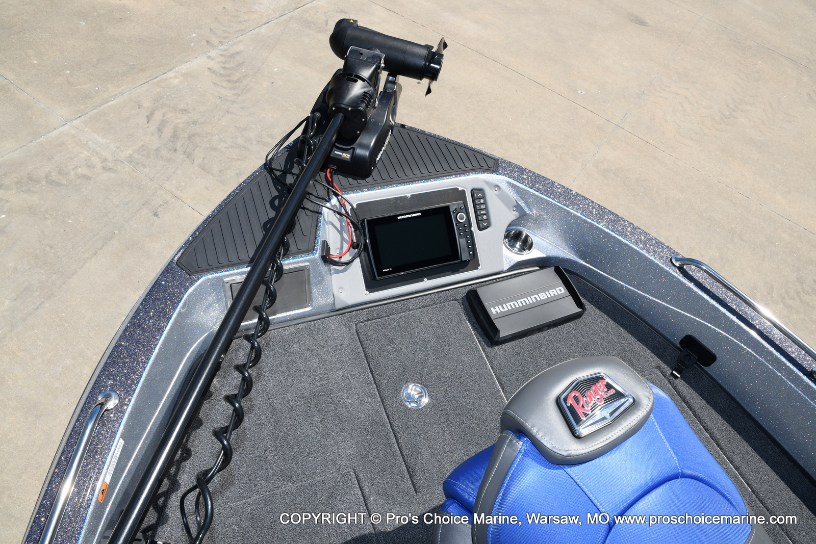 2021 Ranger Boats boat for sale, model of the boat is 620FS Pro w/300HP Verado & Image # 46 of 50