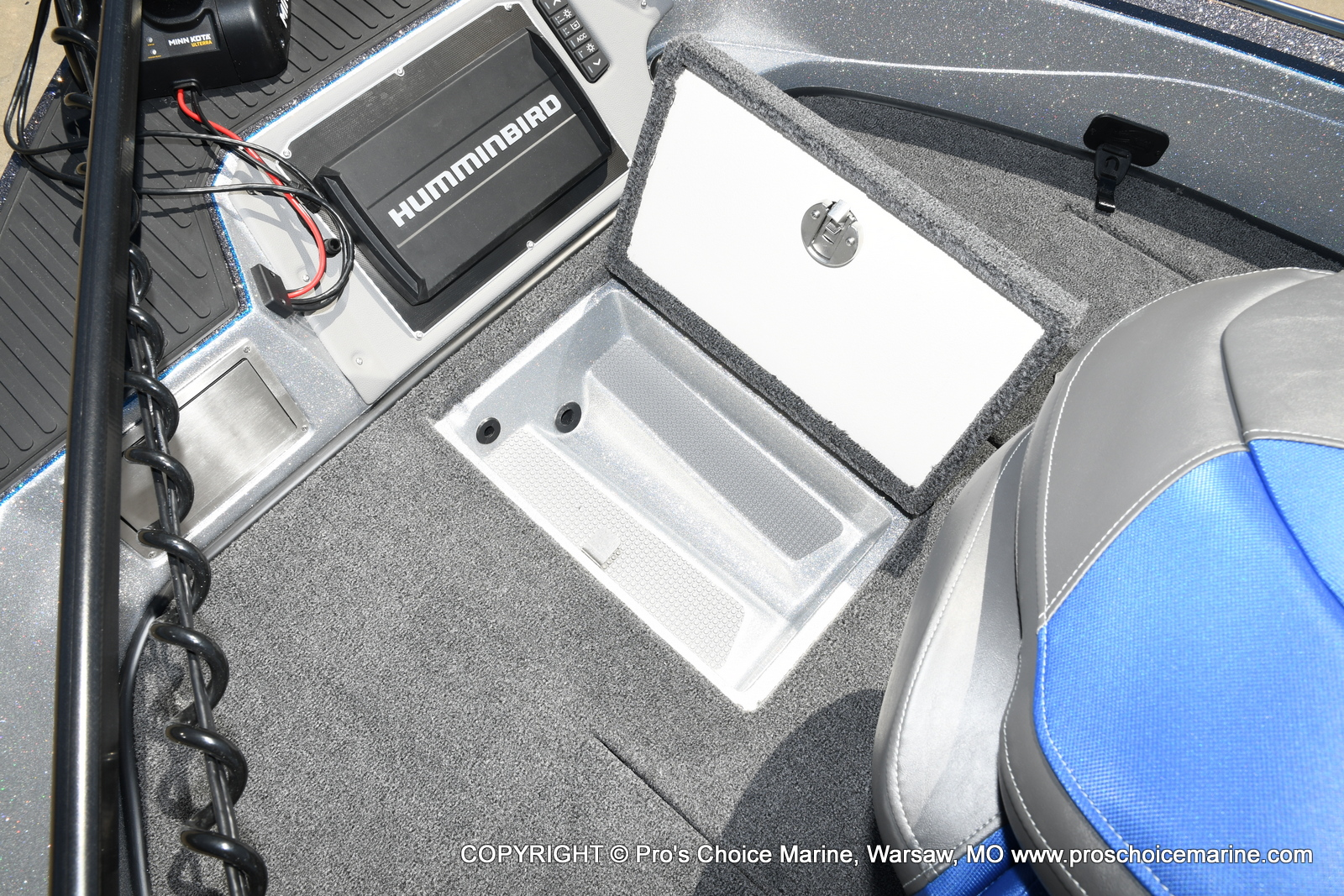 2021 Ranger Boats boat for sale, model of the boat is 620FS Pro w/300HP Verado & Image # 47 of 50