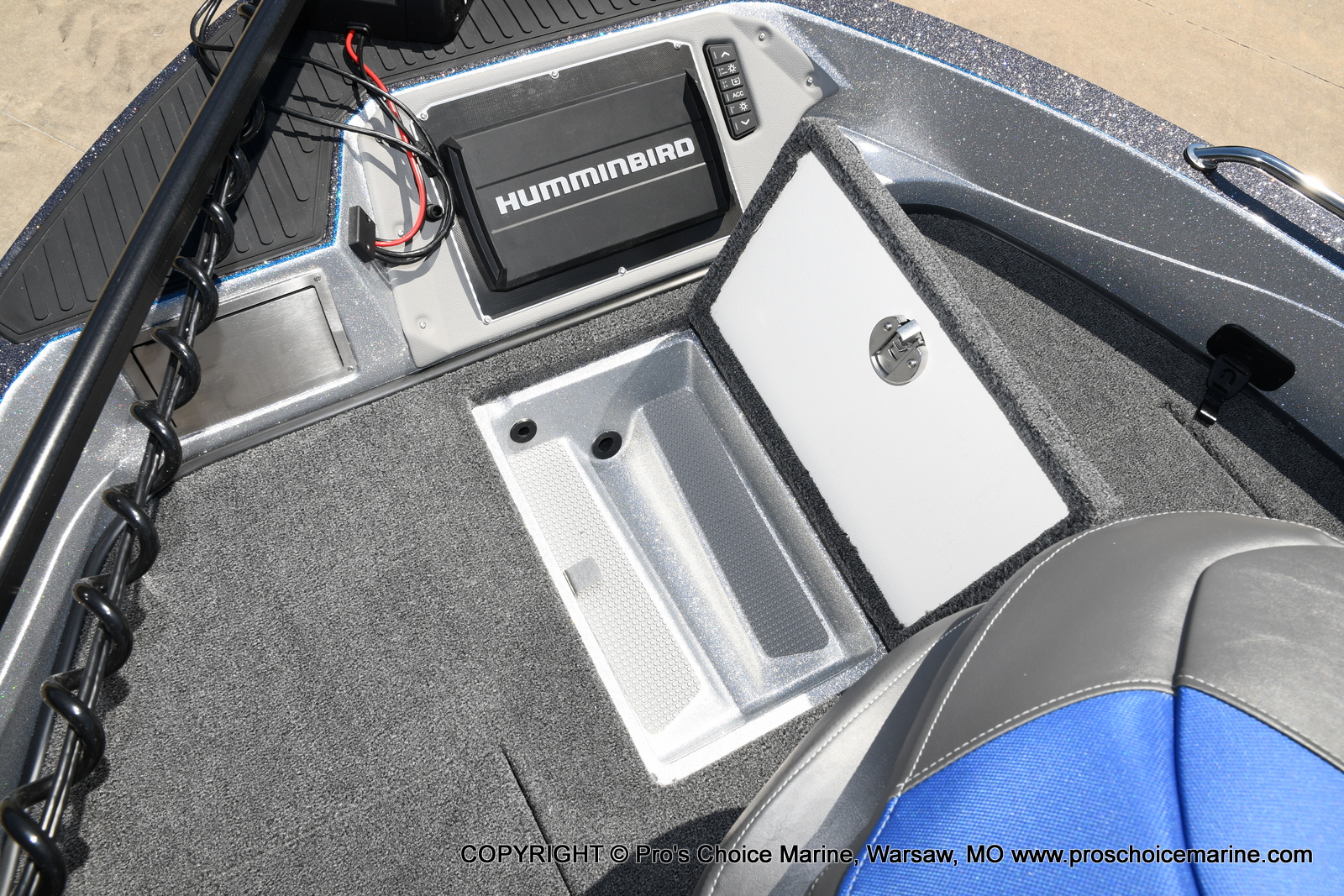 2021 Ranger Boats boat for sale, model of the boat is 620FS Pro w/300HP Verado & Image # 48 of 50