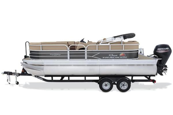 2018 Sun Tracker boat for sale, model of the boat is Party Barge 20 DLX & Image # 4 of 8