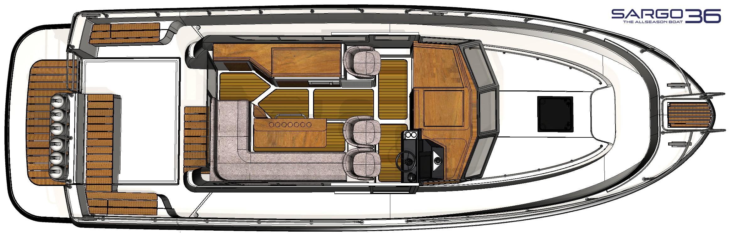 Sargo 36 wheelhouse plan