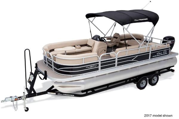 2018 Sun Tracker boat for sale, model of the boat is Party Barge 22 DLX & Image # 3 of 7