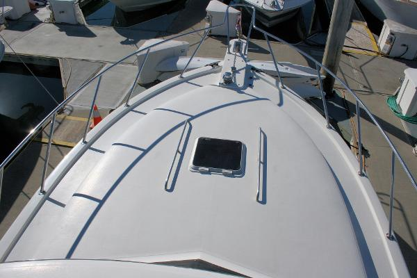 FOREDECK WITH DINGHY OFF