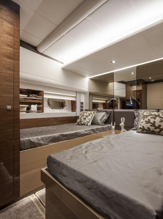 Manufacturer Provided Image: Twin Guest Stateroom