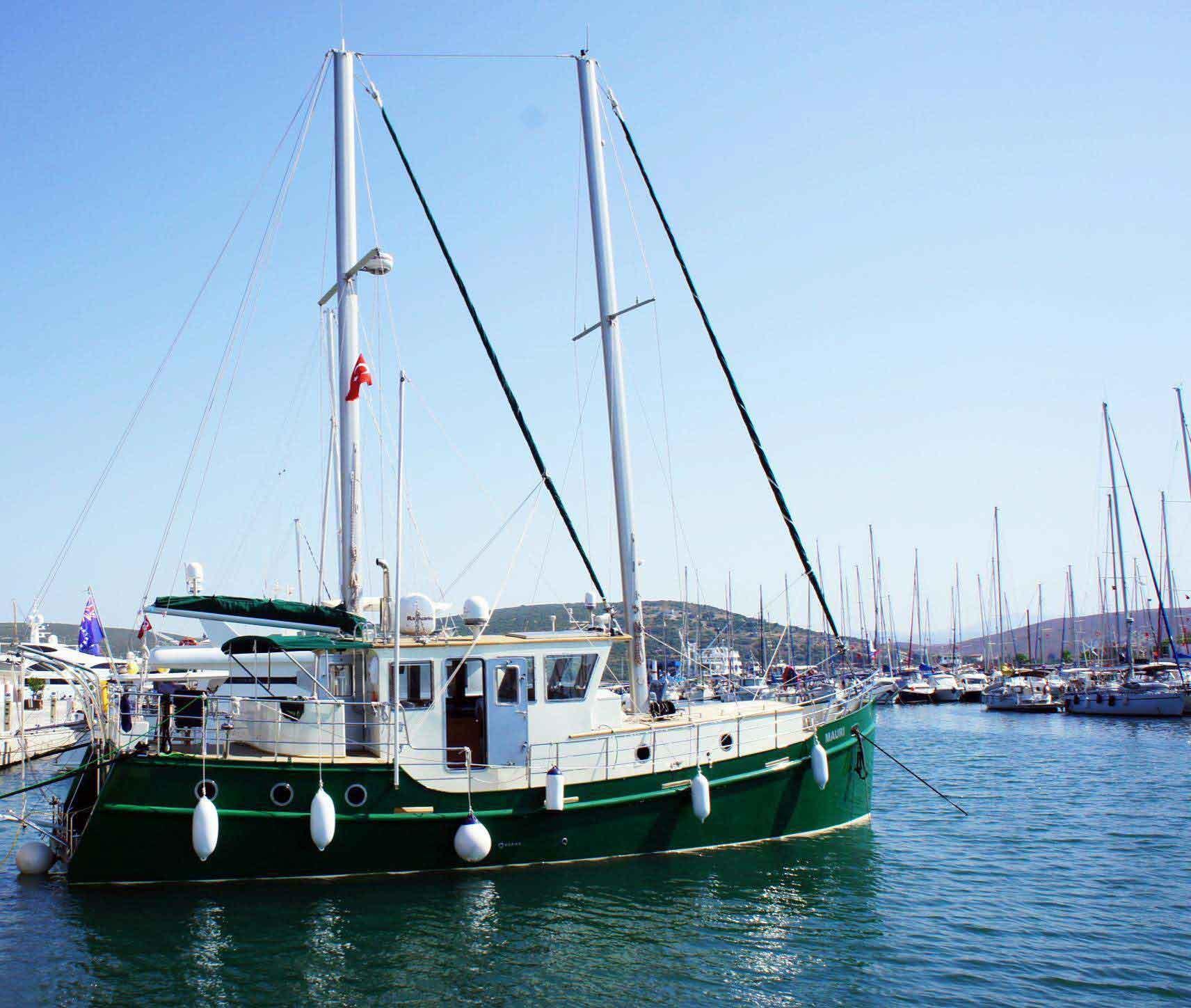 50' Diesel Duck Trawler MAURI