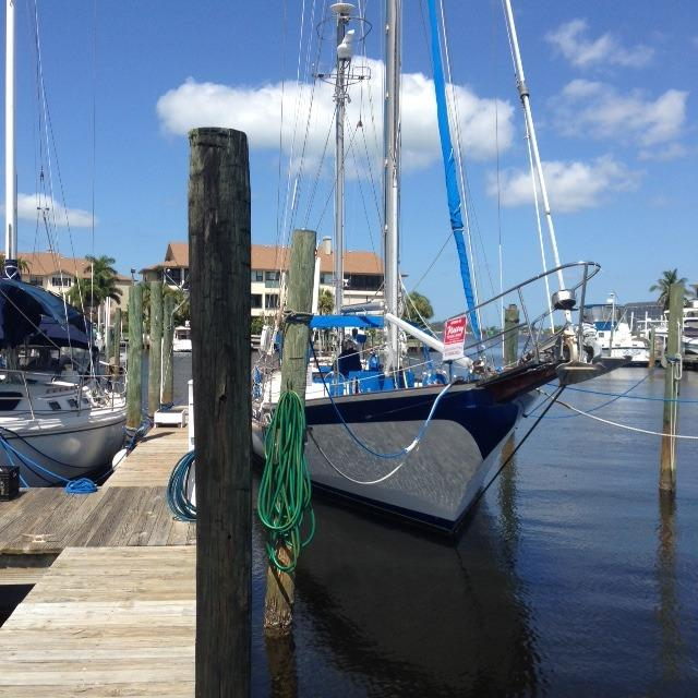 1974 Durbeck D46 Flush Deck Cutter Ketch