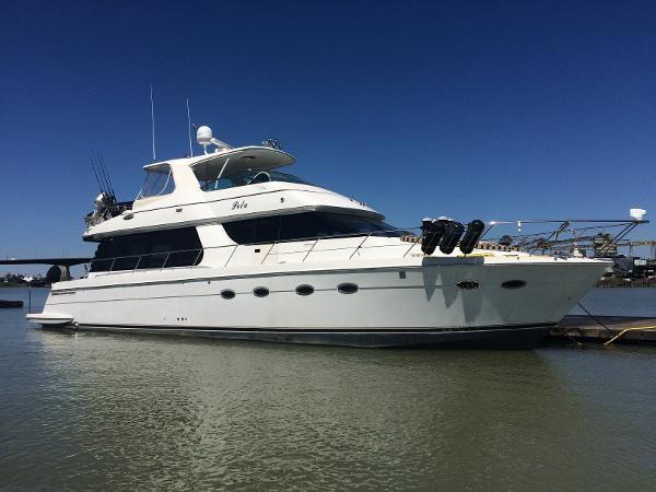 57 ft Carver 570 Voyager