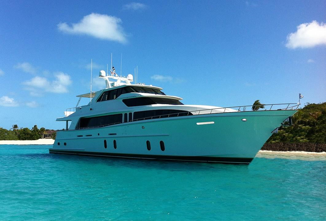 100 ft Cheoy Lee ABS Motor Yacht