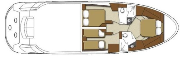 Lower Deck Floorplan