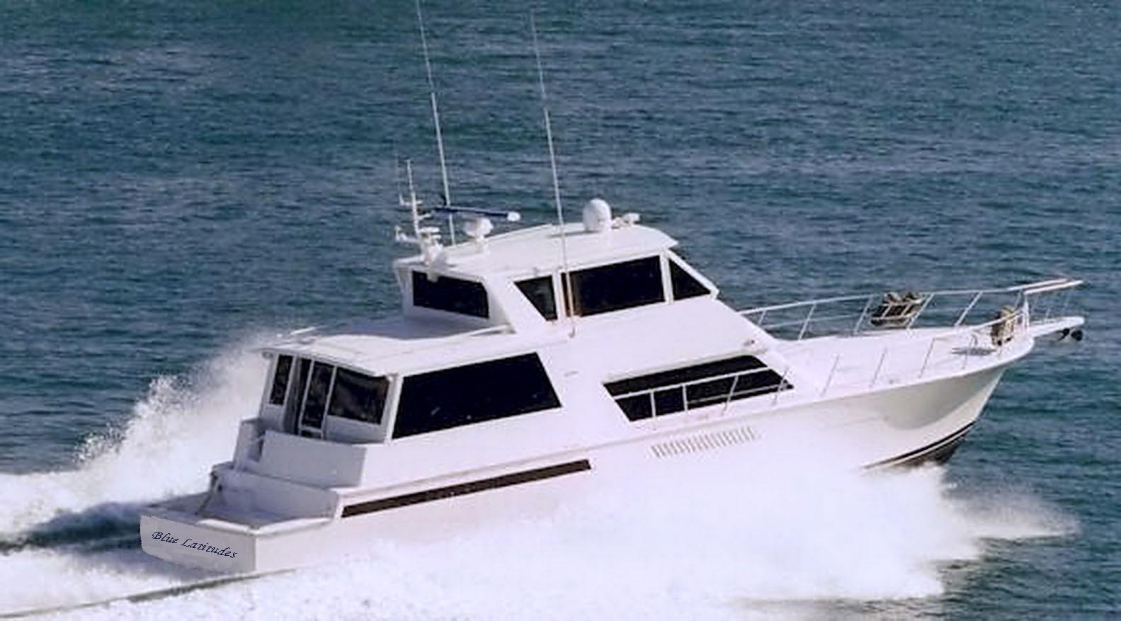 60 viking yachts 2000 blue latitudes for sale in stuart