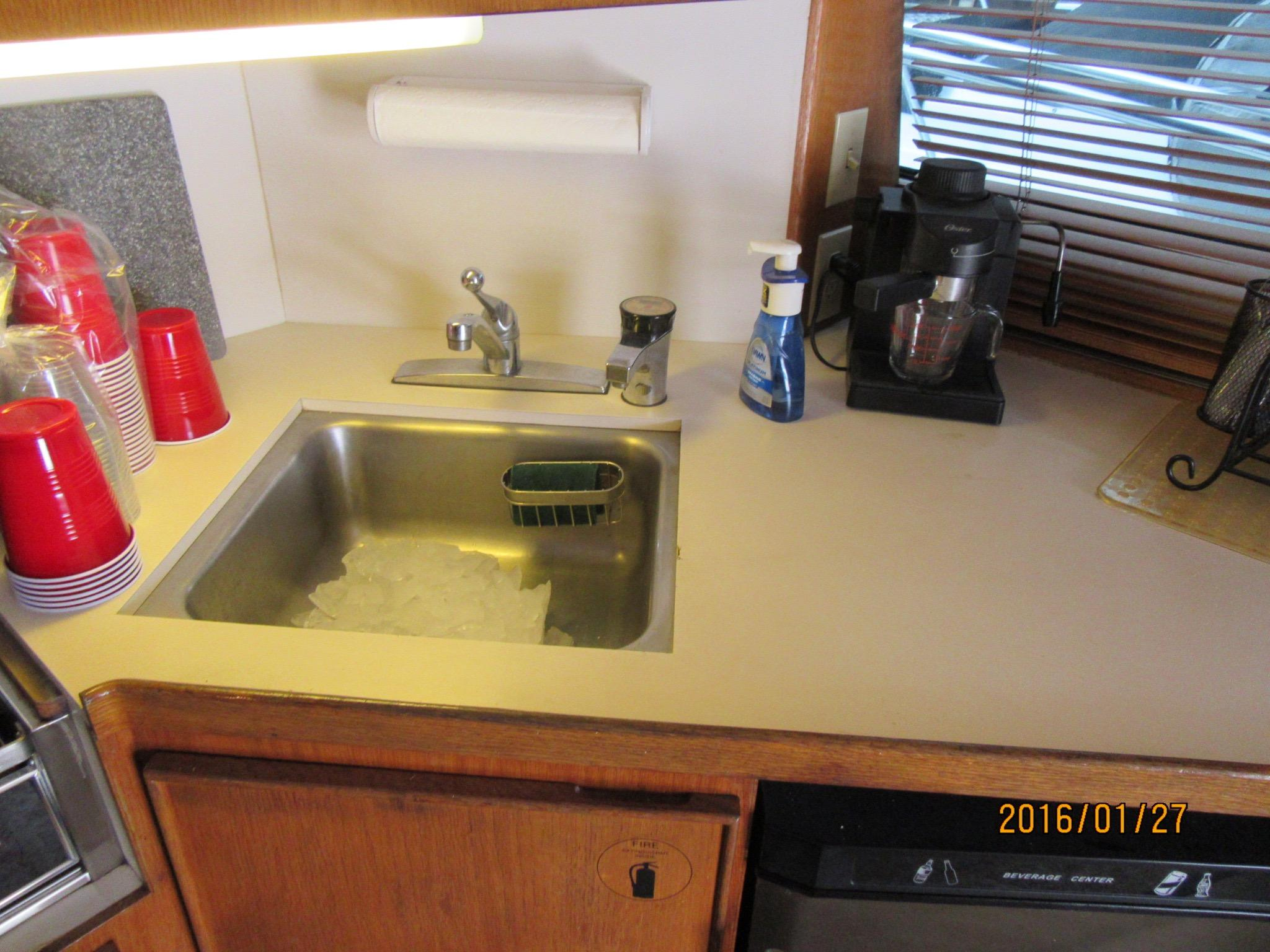 GALLEY STAINLESS STEEL SINK