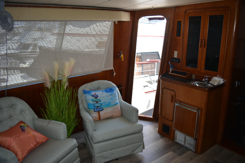 Gulfstar Aft Cabin - Salon Port