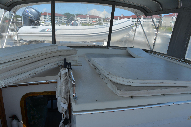 Gulfstar Aft Cabin - Aft on Bridge