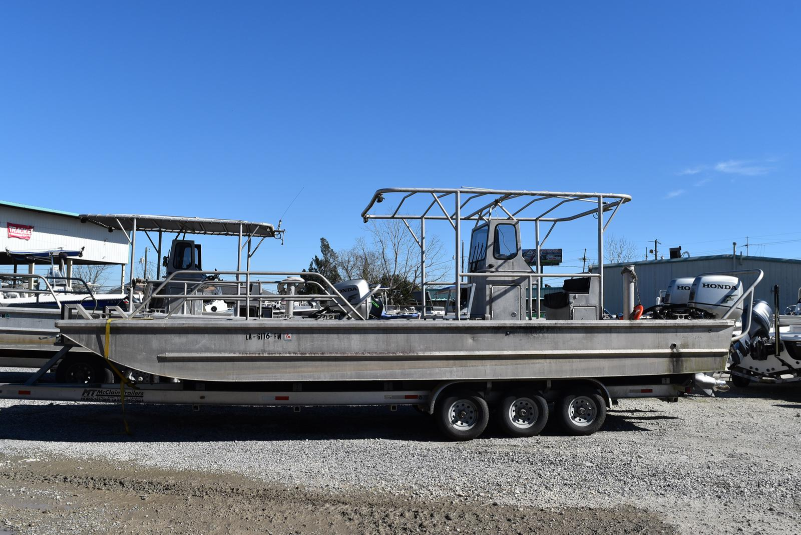 2010 Metal Shark boat for sale, model of the boat is 30ft Workboat & Image # 1 of 17