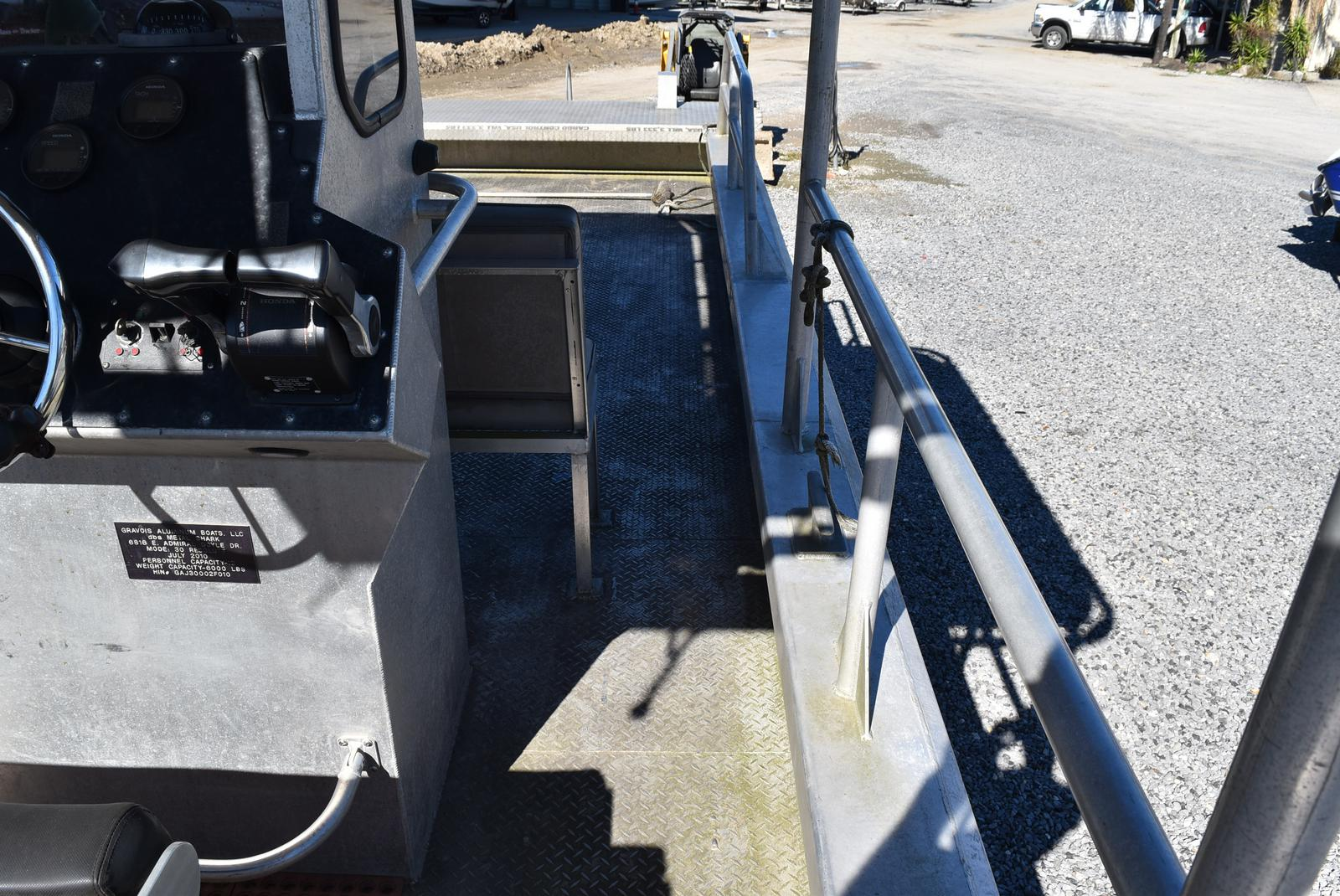 2010 Metal Shark boat for sale, model of the boat is 30ft Workboat & Image # 10 of 17