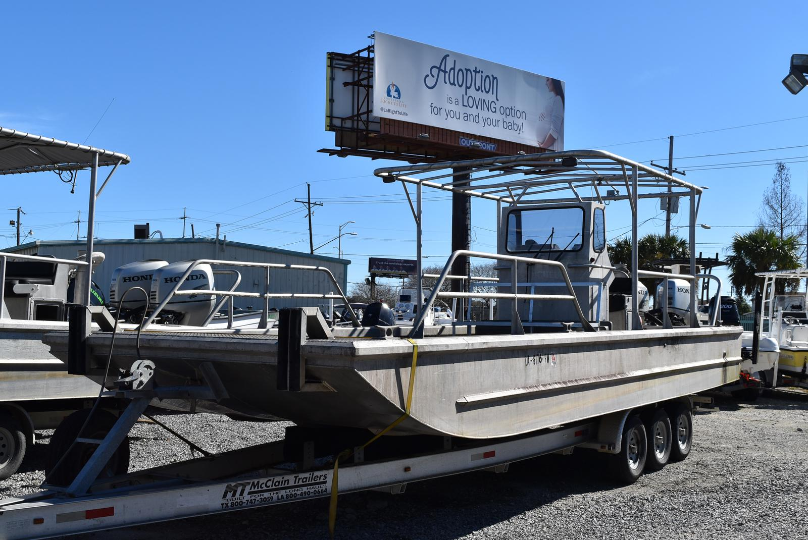 2010 Metal Shark boat for sale, model of the boat is 30ft Workboat & Image # 11 of 17