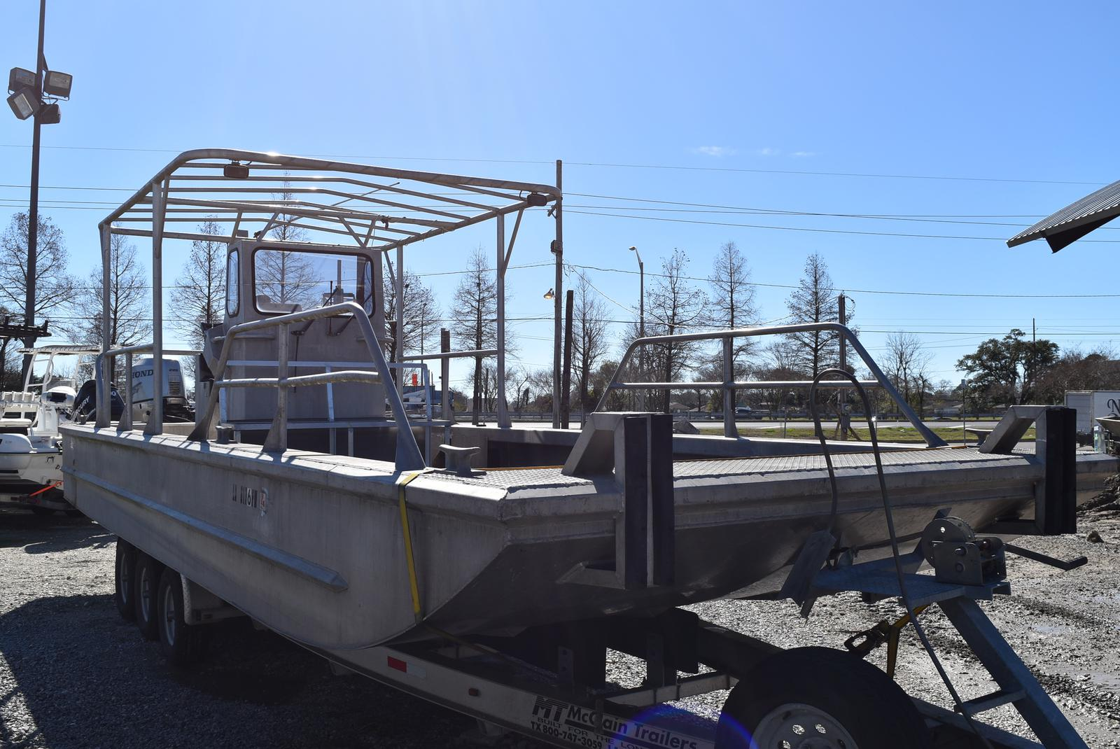 2010 Metal Shark boat for sale, model of the boat is 30ft Workboat & Image # 12 of 17