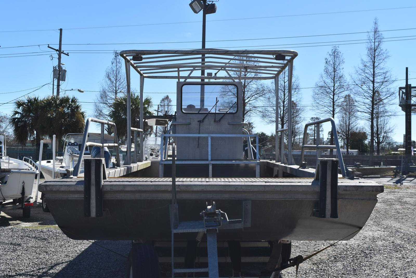 2010 Metal Shark boat for sale, model of the boat is 30ft Workboat & Image # 2 of 17