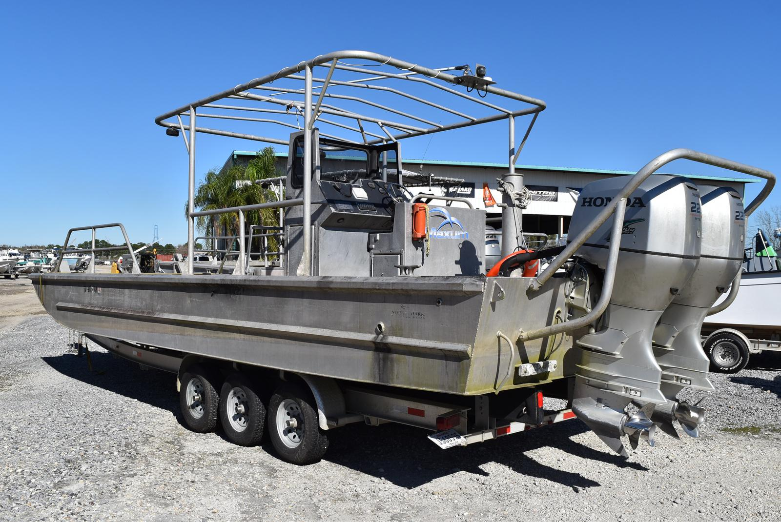 2010 Metal Shark boat for sale, model of the boat is 30ft Workboat & Image # 5 of 17