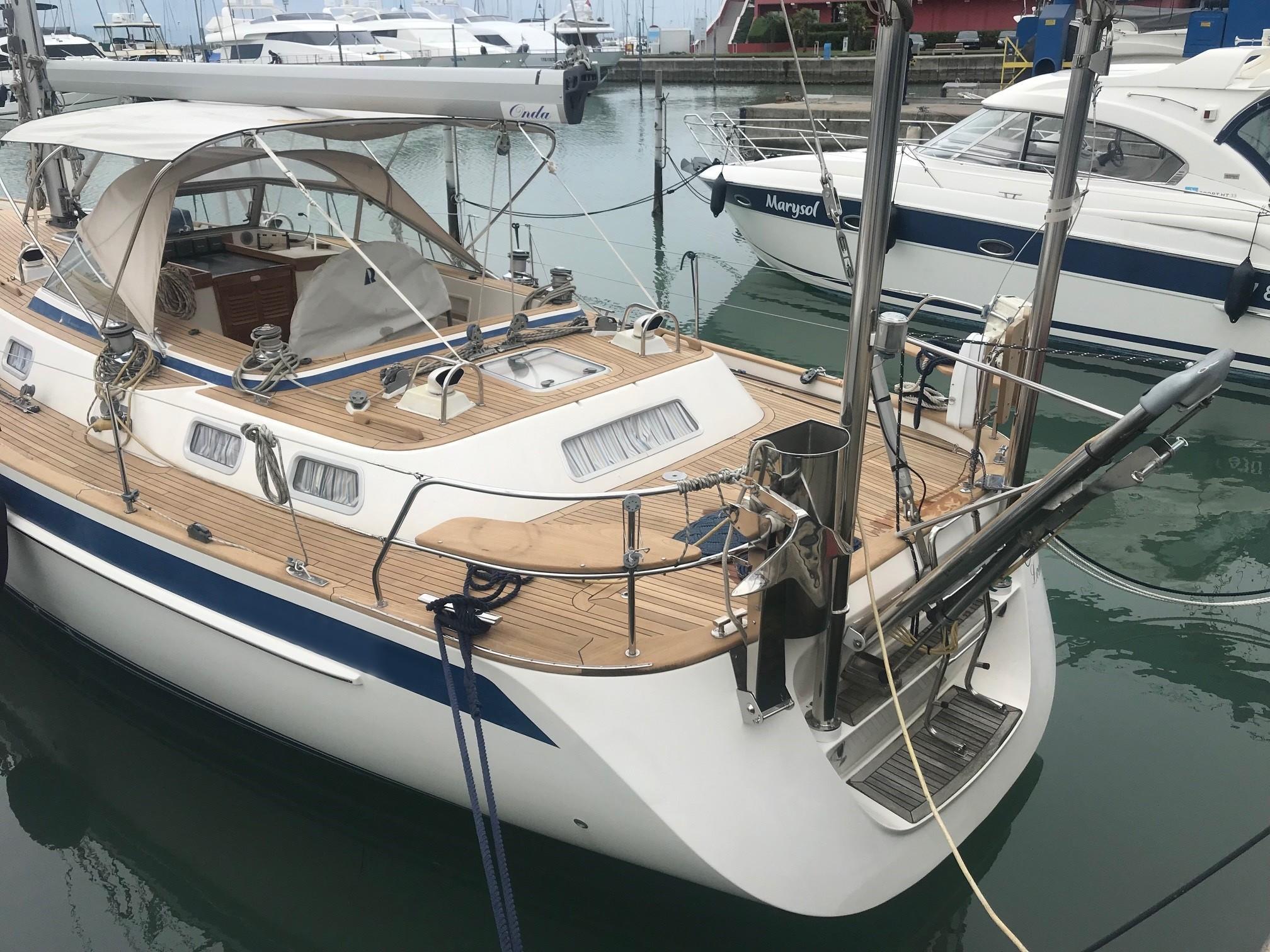 49 Hallberg-Rassy 4338 2007 Alto Adriatico | Denison Yacht Sales