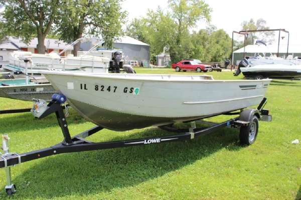 1986 LOWE LUNKER V16 for sale