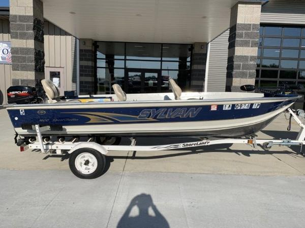 1999 SYLVAN 1600 SPORT TROLLER for sale