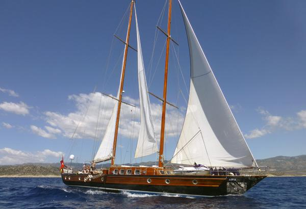 26 M Steel Motorsailer With 4 Cabins