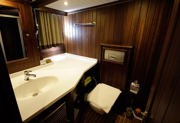 All Cabins Are With En-suite Bathrooms