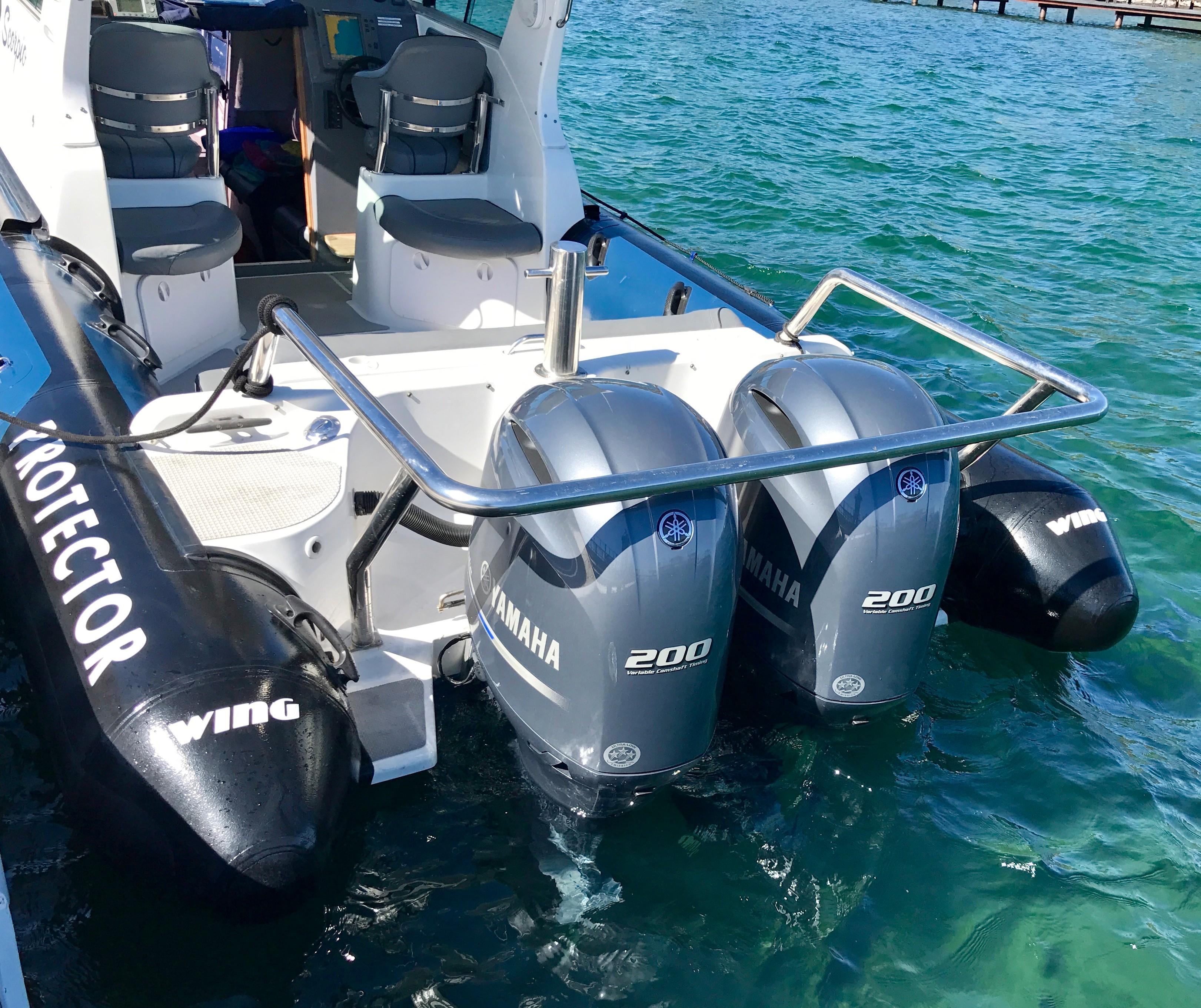 28' Protector Targa 28 Yacht For Sale - Rubicon Yachts