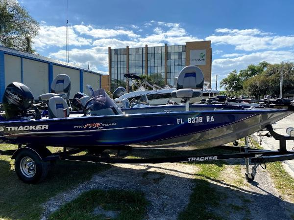 2014 TRACKER BOATS PRO TEAM 175 TF for sale